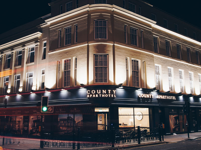 County Aparthotel opens in Newcastle