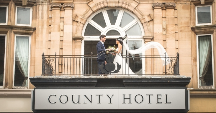 County Hotel National Wedding Awards Nomination