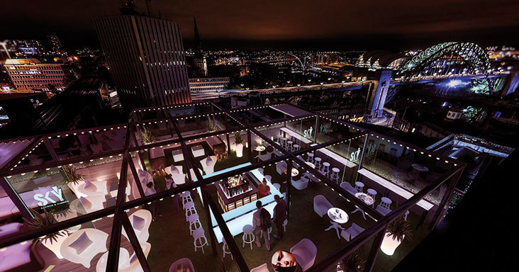 Sky Lounge and Garden